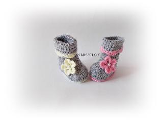 Плетени ботушки