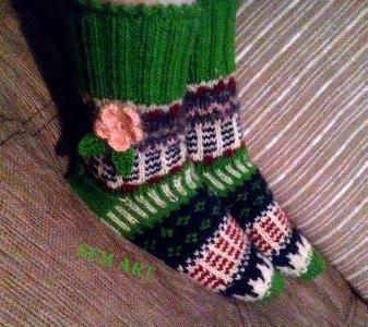 Плетени чорапки