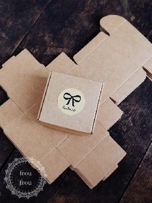 Подаръчни кутийки крафт хартия картон