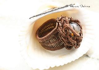 пръстен ''Драконови вени в бодлива клобка''