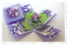 Пролетна кутийка-картичка