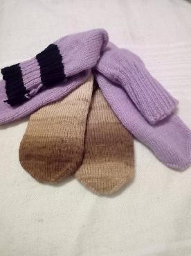 Ръчно изплетени чорапи