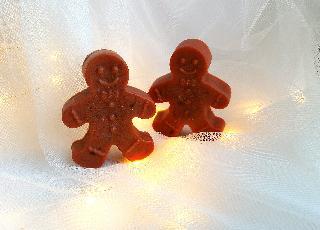 Ръчно изработен коледен сапун Gingerbread man