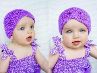ръчно плетена шапка