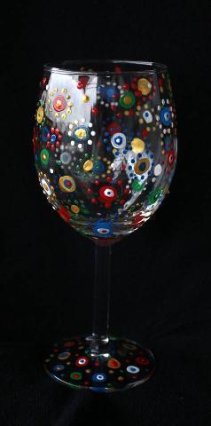 Ръчно рисувана чаша