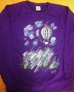 Рисувана блуза