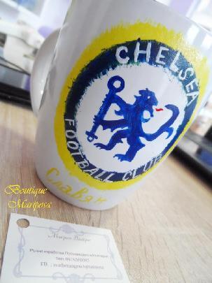 "Рисувана чаша ""Chelsea"""