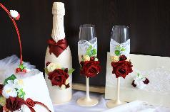 Ритуални чаши и сватбени аксесоари