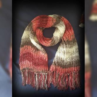 Шал ръчна изработка. Плетен шал. Шал Handmade. Шал ръчно плетиво.
