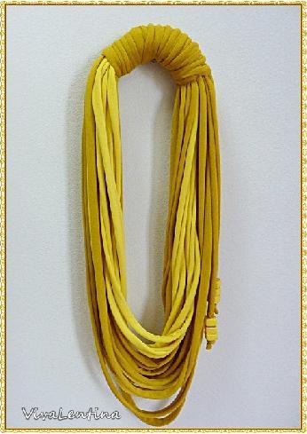 Спагети шал. Оригинален подарък за жена.