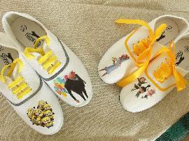 Сватбени обувки за двама