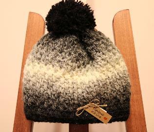 Унисекс плетена шапка