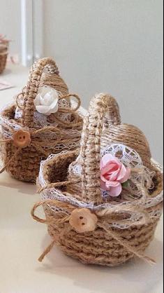 Великденска кошничка с яйчице