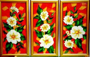 Витражни картини - триптих