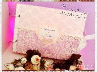 Албум за моминско парти в лилаво
