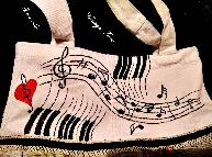 "Арт чанта "" Музика """