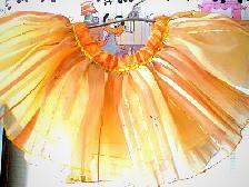 Детски балетни полички на ластик - хендмейд от художник