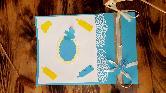 Бебешка картичка или покана за рожден ден