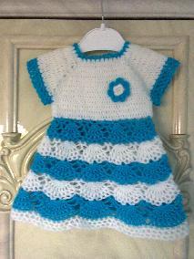 бебешка рокличка със шапка от 0  до 3м