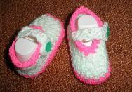 Бебешки буйки за новородено ръчно изработени