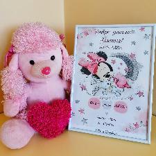 Бебешки визитки за деца и новородени - момичета