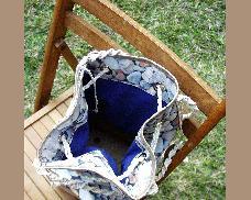 Бохо чанта квадрат с камъчета
