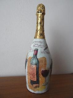 Бутилка шампанско