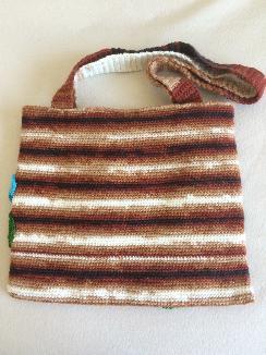 Чанта с теменужки
