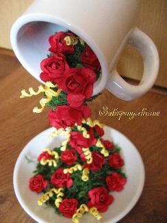 Чаша кафе с дъх на пролет