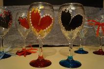 Чаши за св.Валентин.