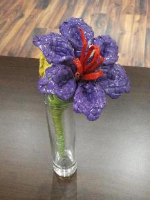 Цветя от хартия - ръчна изработка