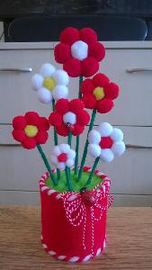 цветя за Баба марта