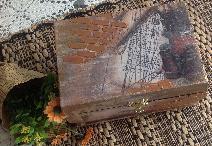 Дървена кутия за всякакви Принадлежности