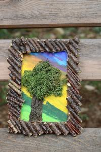 Декоративна рамка-дръвче