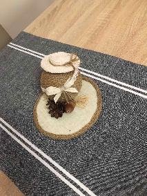 декоративни украси от естествени материали за дома