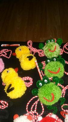 Детски играчки мартеници