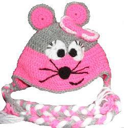Детски шапки приказни герои ръчна изработка за момичета и момчета