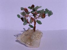 Дръвче от естествени камъни