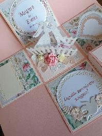 Експлодираща кутийка- картичка за сватба