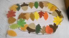 Гирлянд от есенни листа