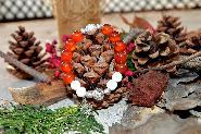 Гривна от естествени камъни Колекция Коледни вълшебства