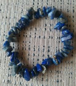 Гривна от Лазурит (Lapis Lazuli)