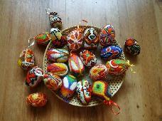 Яйца-писани с вълна