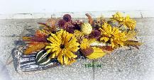 Икебана сухи цветя