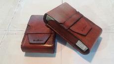 Калъф  табакера за цигари Кожен калъф за кутия с цигари