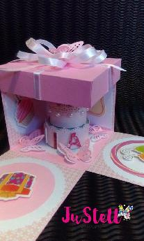 Картичка кутия Мия