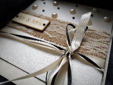 Картичка покана с плик