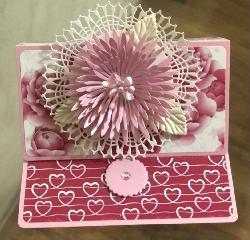 Картичка в розово