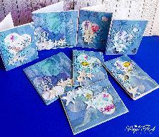 """Картички """" Морско дъно"""""""