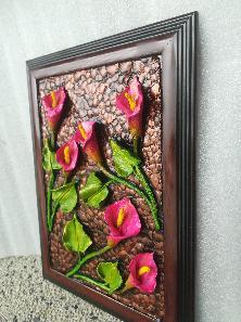Картина  с цветя (калии)